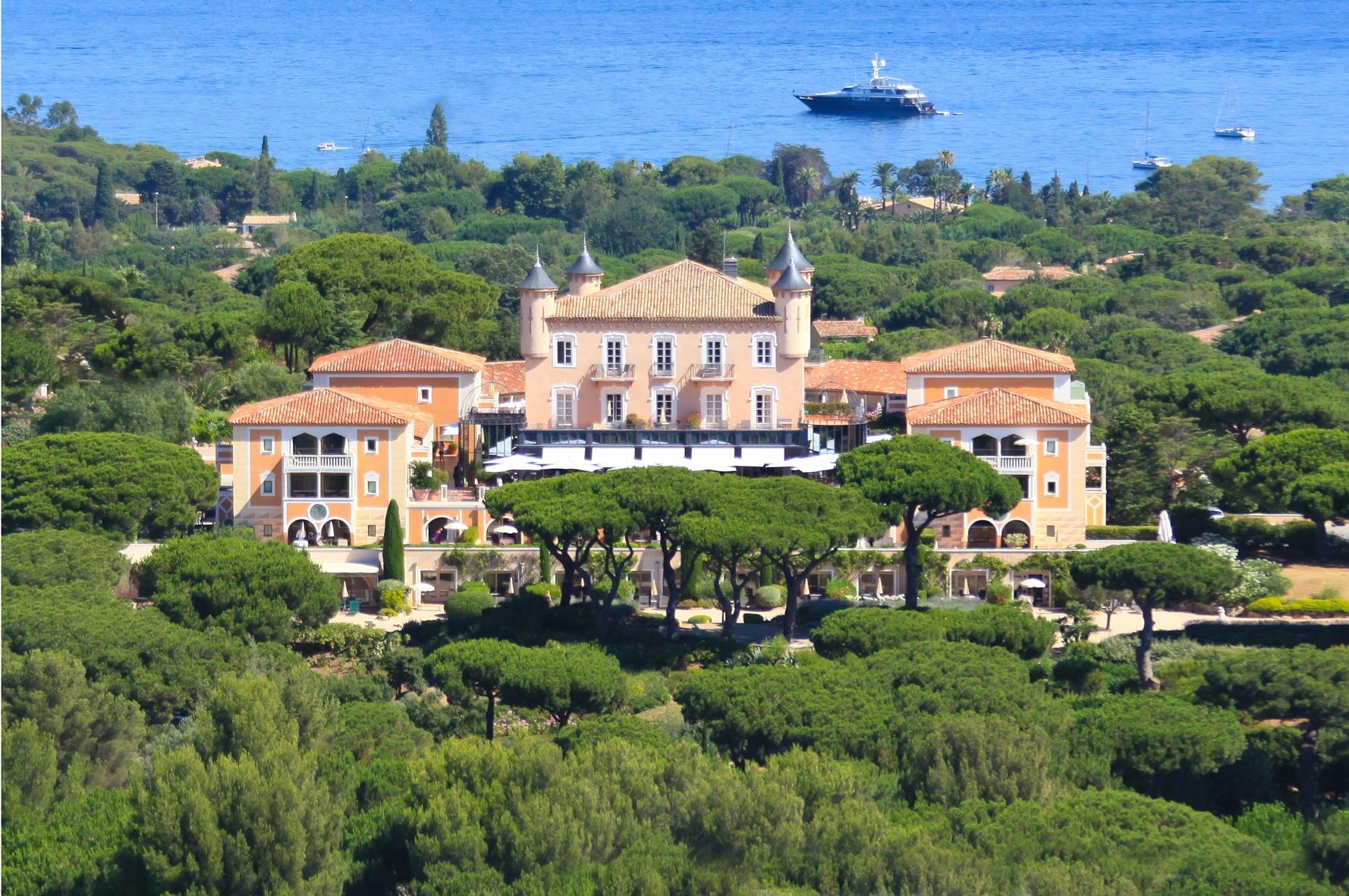 Le Château de la Messardière accueille le club des Spas de prestige Valmont
