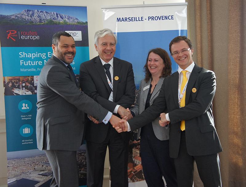 Pour Marseille Provence, Routes Europe est l'occasion de montrer tous les atouts de la région et de son aéroport - DR : C.E.