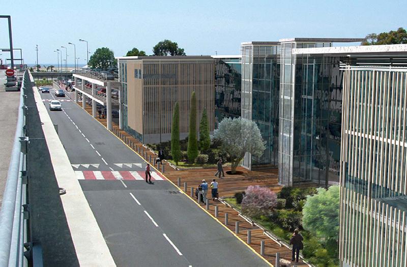 La société allemande Arwe, qui gère le centre de traitement pour loueurs de voitures de l'aéroport Nice Côte d'Azur, faisait appel à des travailleurs « en détachement » payés en dessous du Smic pour des horaires importants 6 jours sur 7 - DR