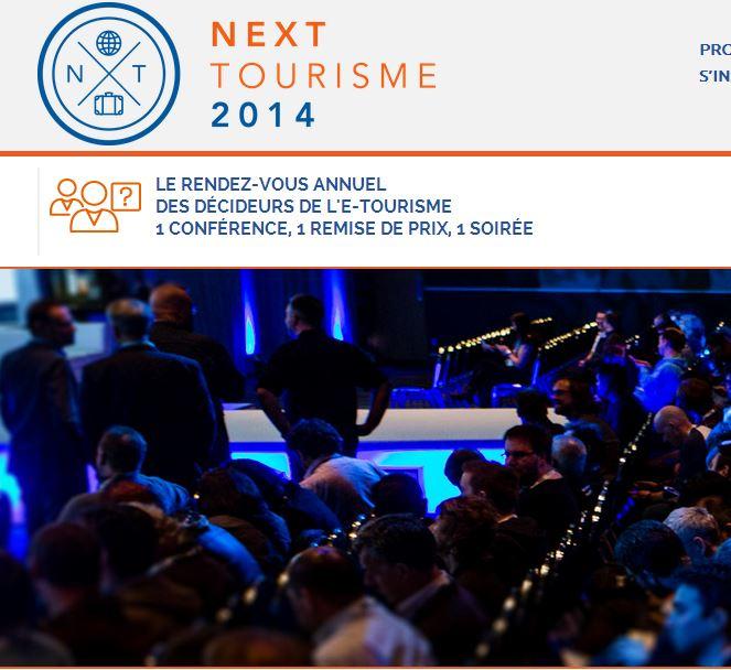 1ère édition du RDV annuel des décideurs de l'e-tourisme, Next tourisme - DR