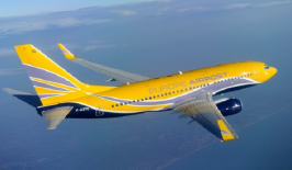 L'avion d'Europe Airpost affrété par TUI France pour l'Été 2014 pourra transporter jusqu'à 65 000 voyageurs au cours de la saison - Photo DR