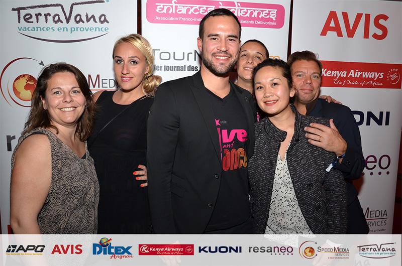 TourMagEVENT a organisé avec de nombreux partenaires la soirée du 10e anniversaire du DITEX qui a rassemblé plus de 300 personnes au Bokao's en Avignon début avril /photo dr