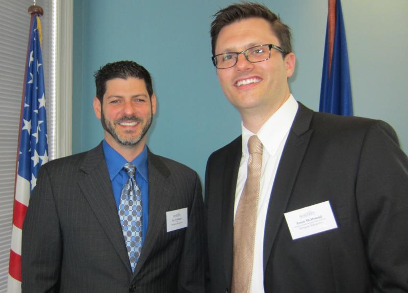Jay Feitlinger et Jason Mcdonald veulent aider les entreprises françaises à se lancer sur le marché américain. Photo LAC
