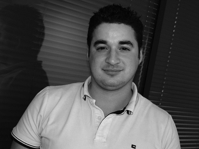 Jalil Servais, webmarketer et assistant commercial - DR