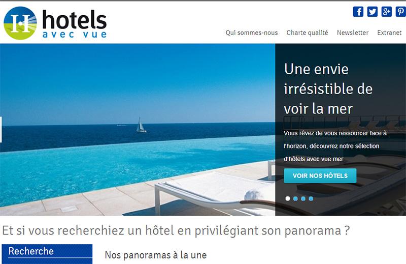 Hôtel avec vue propose une collection d'hôtels qui offre un panorama particulier.