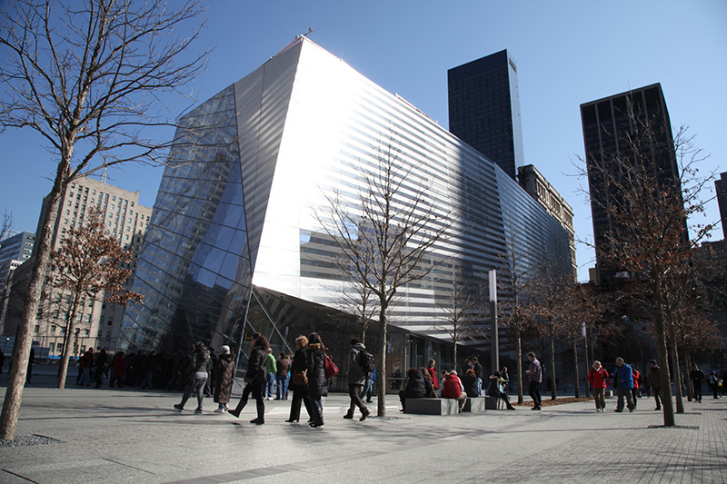 Le musée proposera deux expositions permanentes, dans des salles situées à l'emplacement même des fondations des tours jumelles - DR : NYC & Company