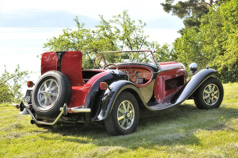 Les deux co-équipières conduiront une Bugatti De La Chapelle - DR : Princesses.cn