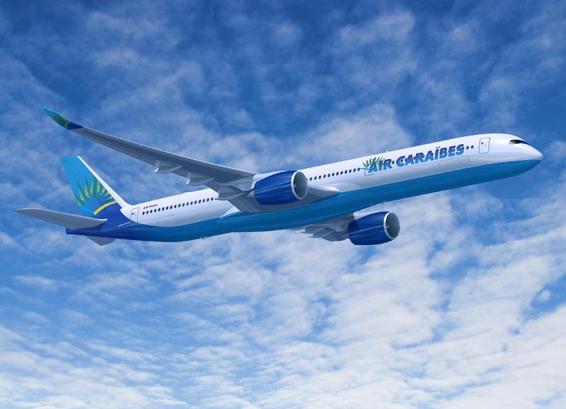 Air Caraïbes doit trouver de nouveaux relais de croissance pour positionner ses futurs A 350, commandés il y a quelques mois et dont les premiers [devraient être livrés à partir de 2016 -Copyright AIRBUS SAS 2013