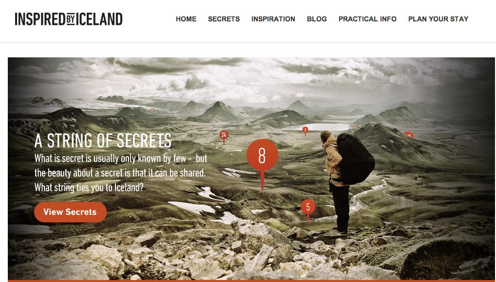 Les internautes sont invités à partager leurs expériences insolites sur le site de l'office du tourisme d'Islande. DR