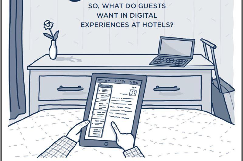 Selon l'étude menée par MCD Partners, 80% des clients souhaitent aujourd'hui découvrir les services de l'hôtel et les  recommandations des réceptionnistes ou des concierges de leur smartphones et désirent  avoir la possibilité de commander ces services de leur mobile également.