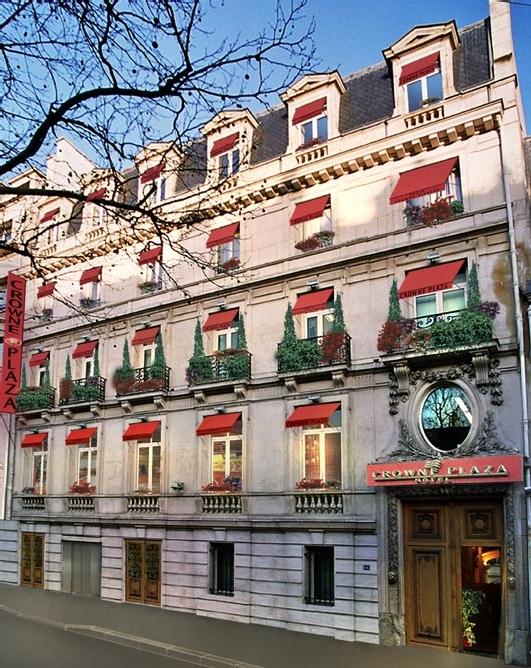 Le Groupe Cible a dans le collimateur l'ouverture d'un Crowne Plaza Paris