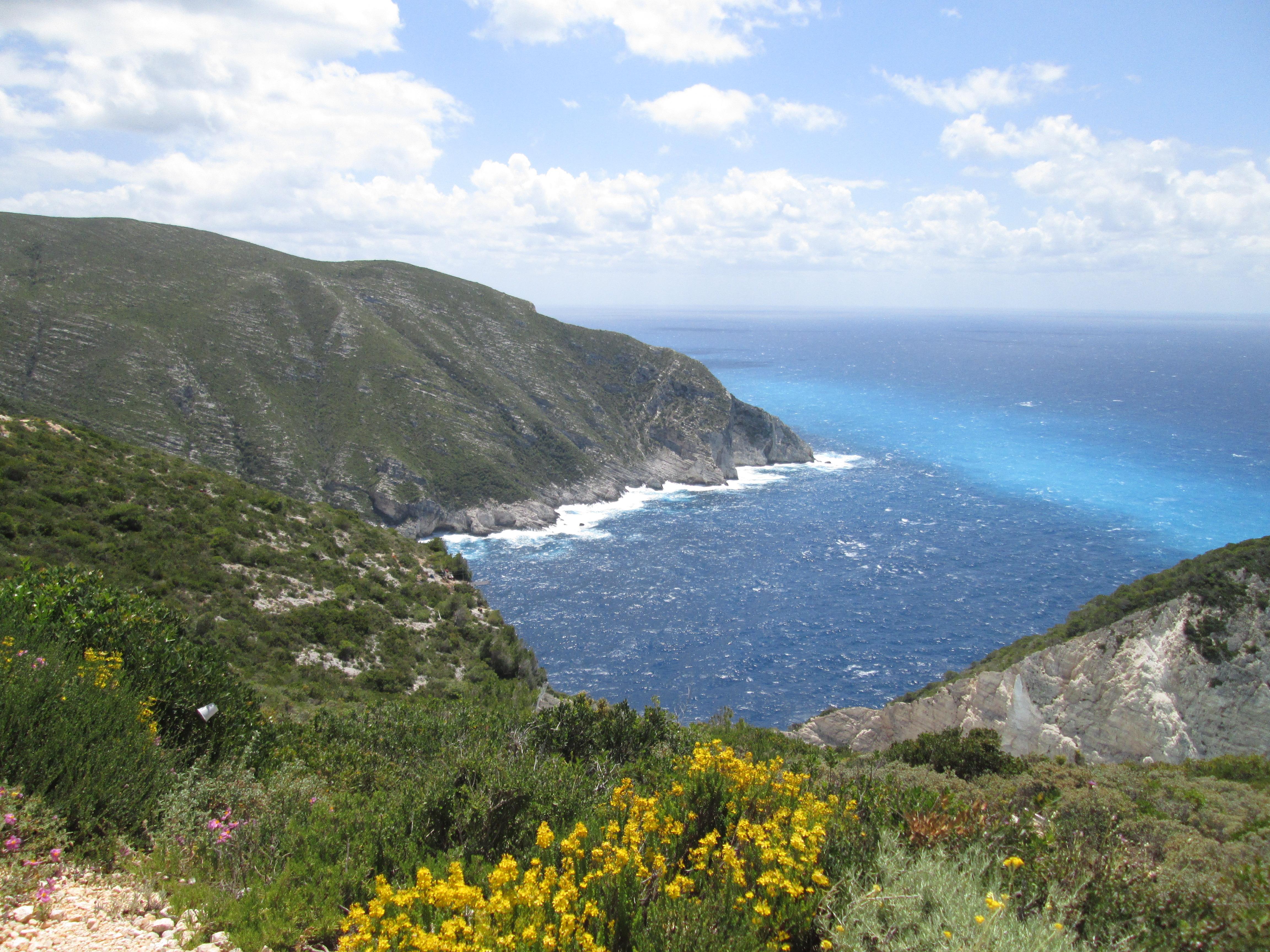 La fameuse baie des Naufragés aux bleus des mers du sud - DR : M.S.
