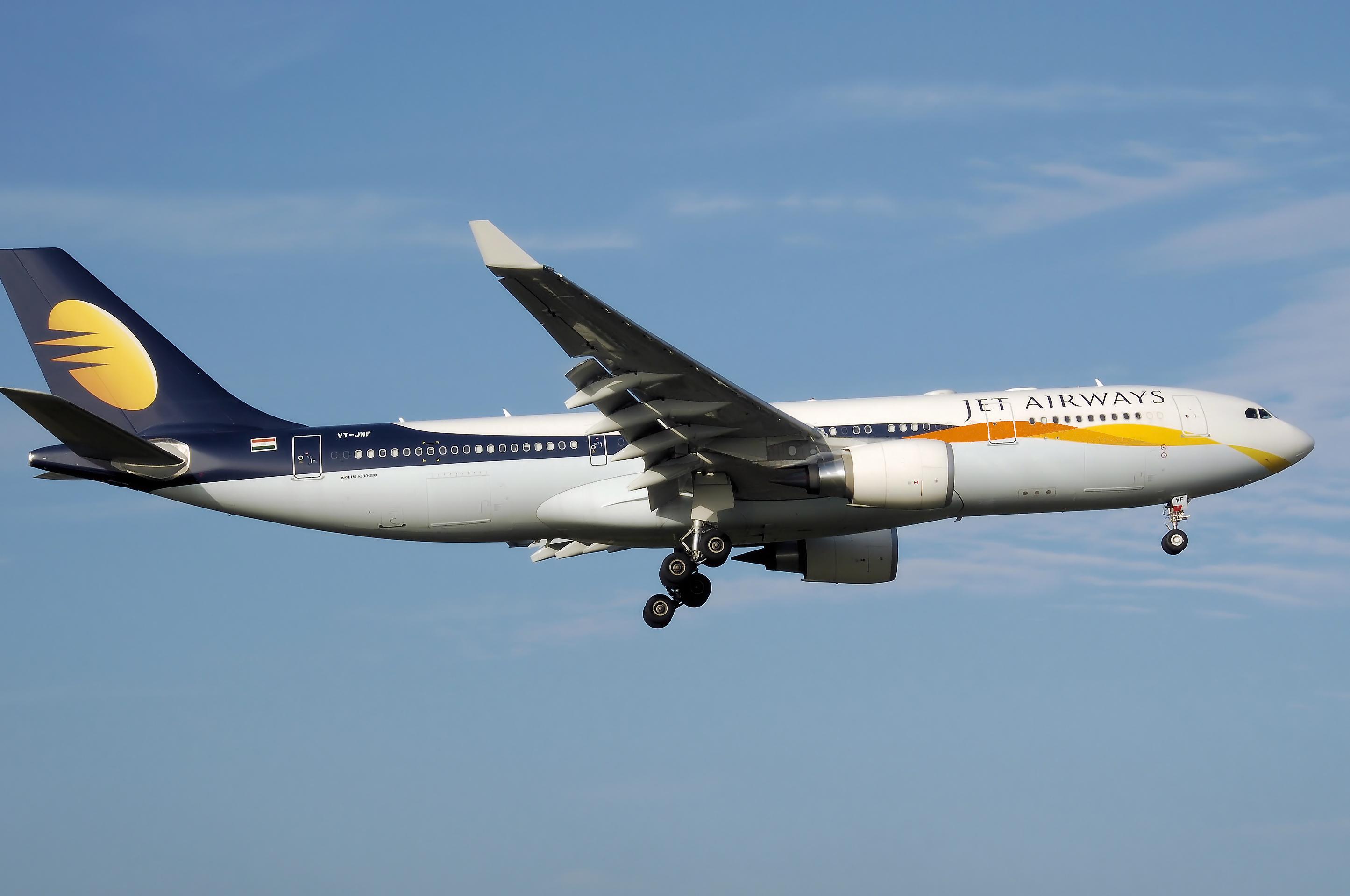 D'ici octobre 2014, Jet Airways positionnera un Airbus A330-300, doté de 34 sièges affaires et 259 économiques, soit un total de 293 places - DR : Jet Airways