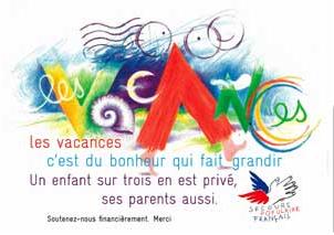 Le secours populaire français vient en aide aux familles démunies. DR