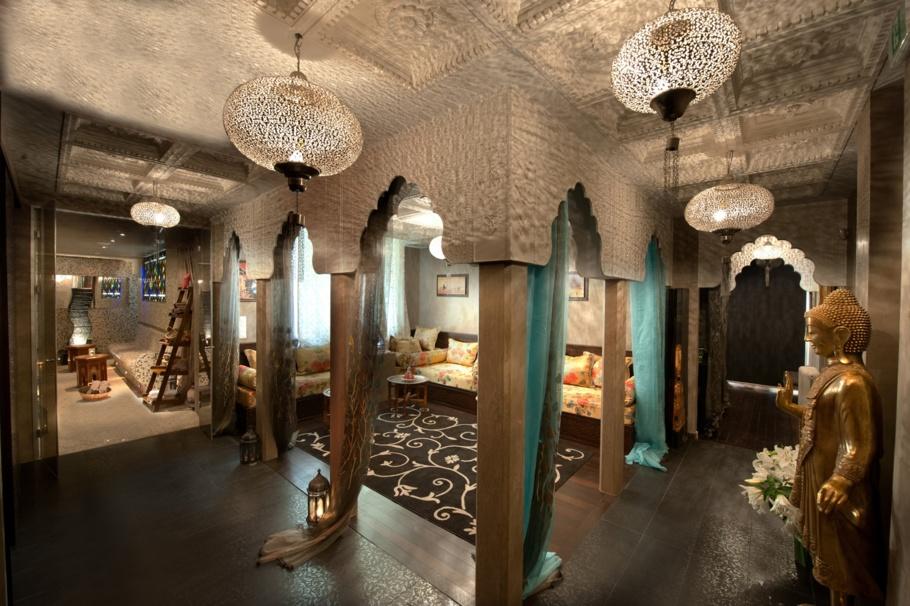 Le lounge oriental de l'Institut Hammam & Spa Or'Normes