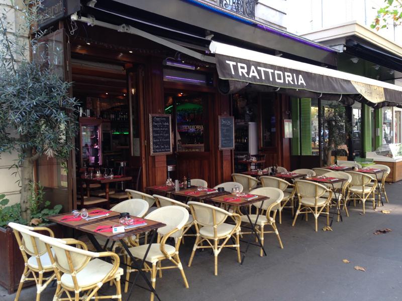 La Trattoria reprise par Didier Munin rue St-Charles, est entourée par 3 agences du groupe Boiloris - Photo DR