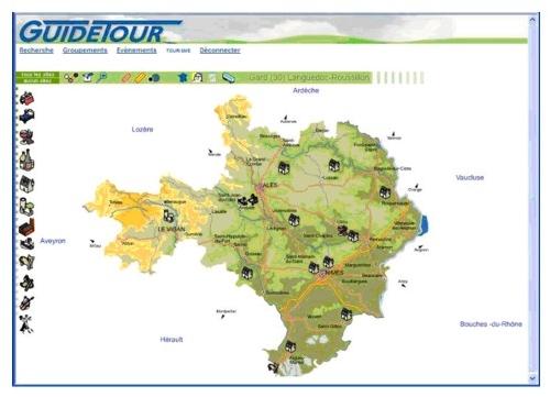 Guidetour : ouverture en PACA et Languedoc-Roussillon
