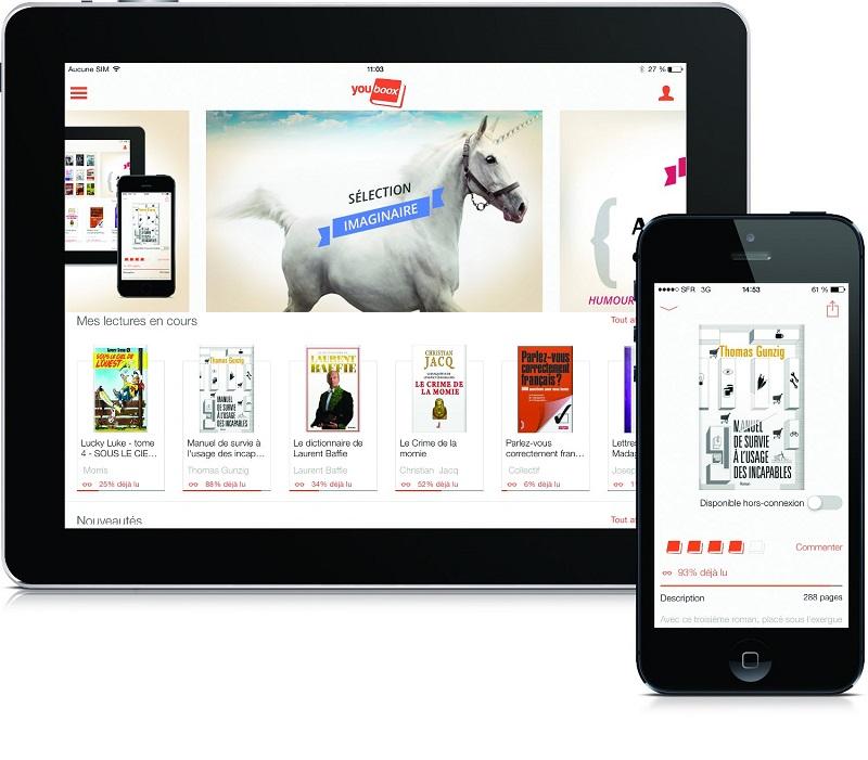 Youboox est la première plateforme de lecture en streaming disponible sur abonnement en France.