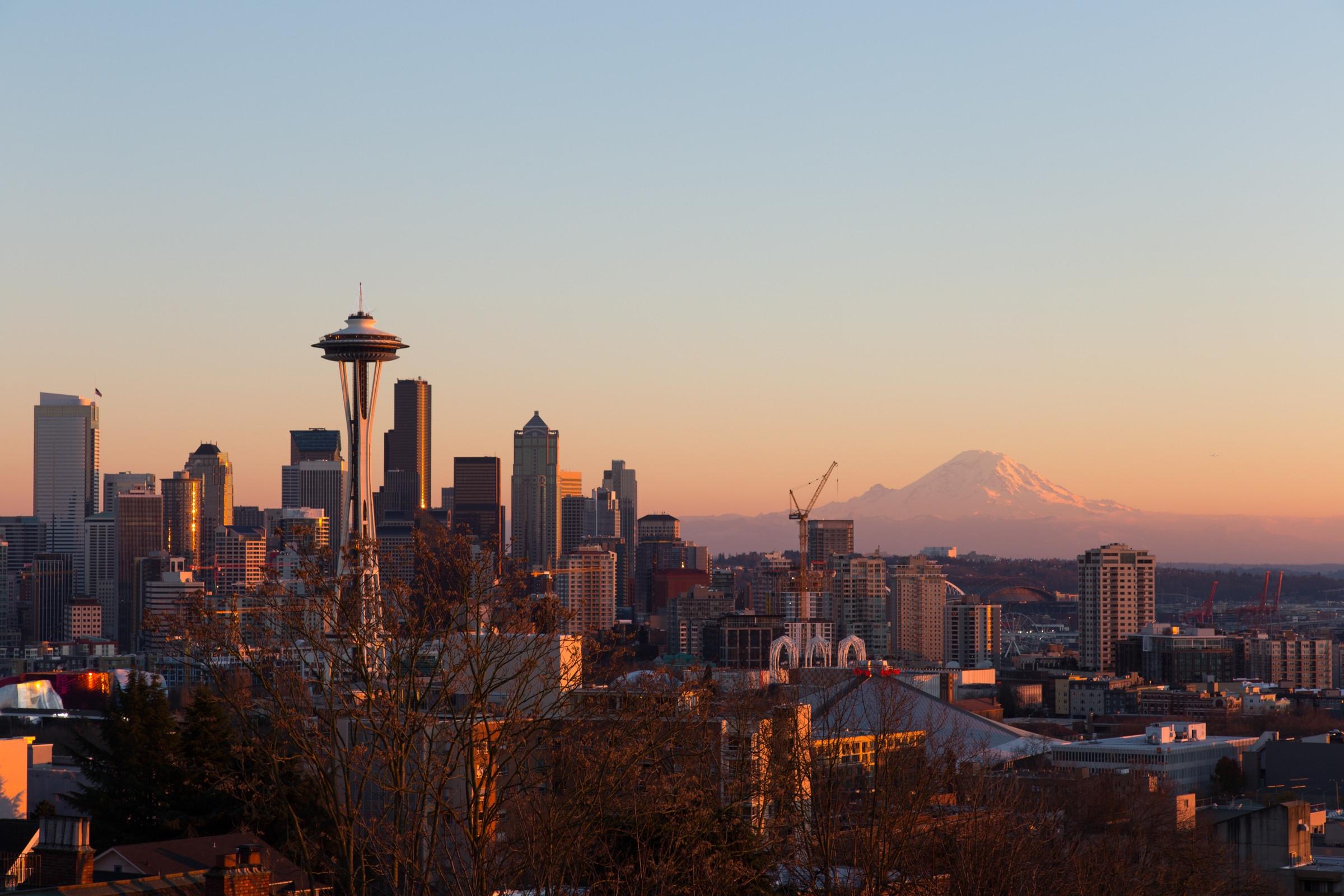 "La ""sky line"" de Seattle"