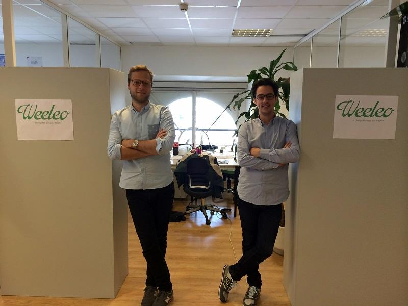 Raphaël Dardek & Lyrod Levy, les fondateurs de Weeleo