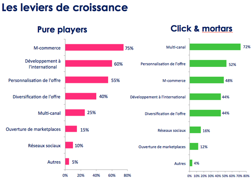 Etude CCM Benchmark pour Webloyalty : Pure Players vs Click & Mortars