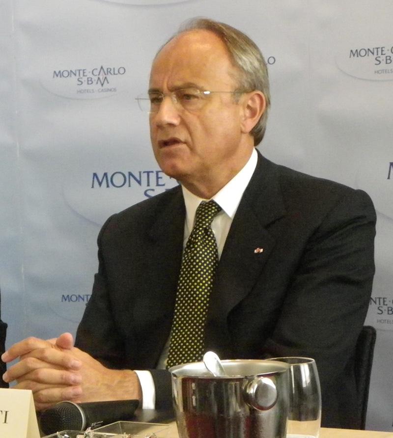 Jean Luc Biamonti, président de la SBM - DR : M.B.
