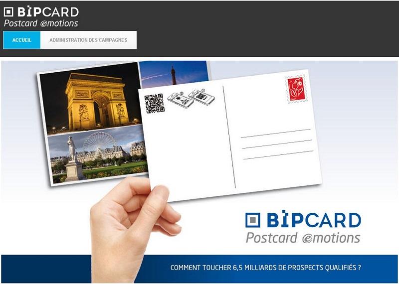 BipCard transforme chaque expéditeur et chaque destinataire en prospects qualifiés. Grâce au flash code unique et aux espaces publicitaires présents sur la plateforme Web, vous pouvez leur proposer des contenus ultra ciblés à même de les intéresser et ainsi développer votre notoriété.