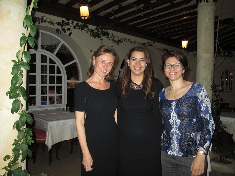 Le comité exécutif du SETO a rencontré Amel Karboul Ministre, Wahida Djait, directeur général et Leila Tekaia, représentante de l'ONTT en France lors de son séminaire annuel en Tunisie - Photo M.S.