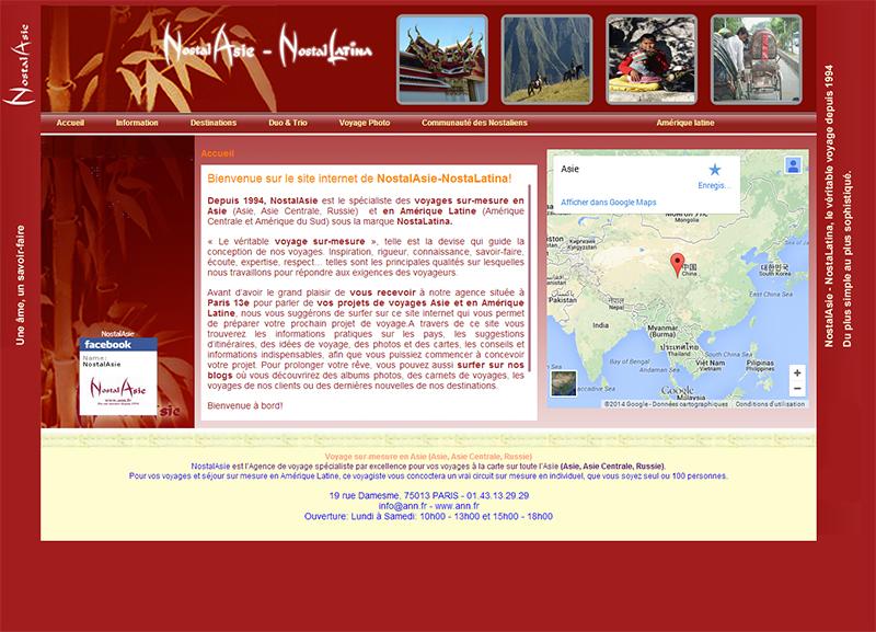 NostalAsie : un savoir-faire sur mesure sur l'Asie et l'Amérique Latine