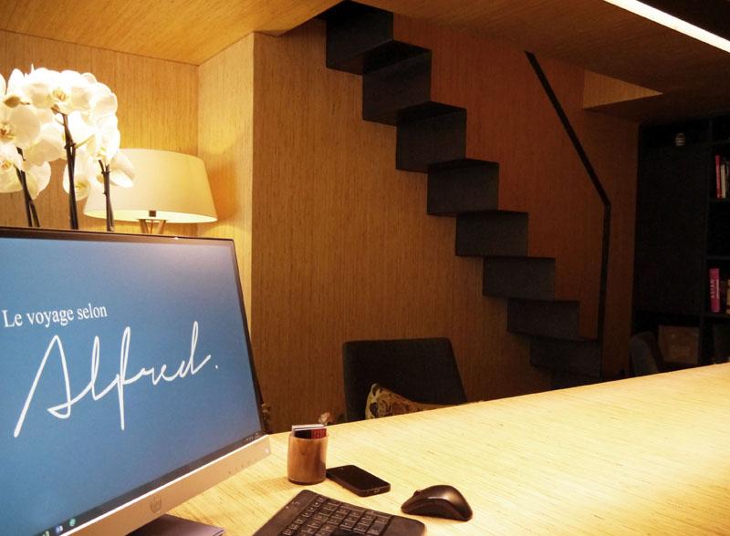 Le nouveau point de vente, installé au 8, cours Lafontaine a été entièrement réalisé sur-mesure par un architecte, le mari de Carole (cabinet Paul&Seguin architectes) - DR