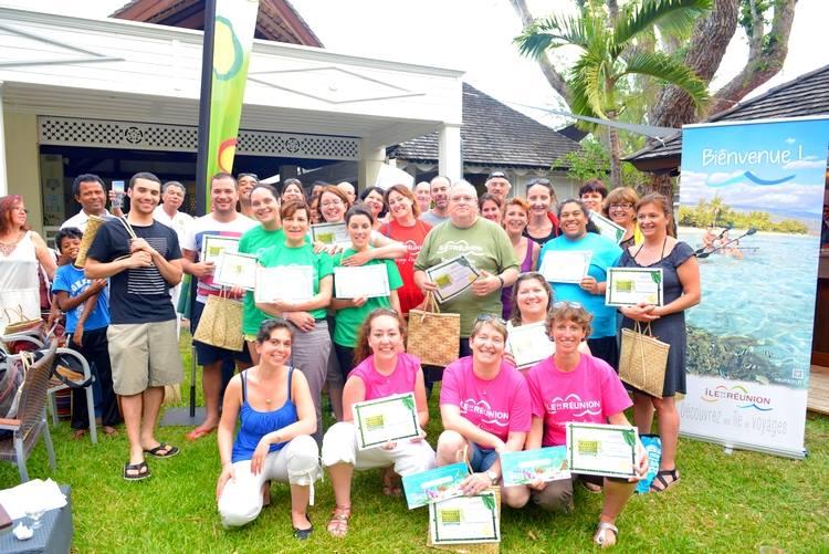 20 agents ont participé au Rallye Mascarun 2014 - DR : IRT