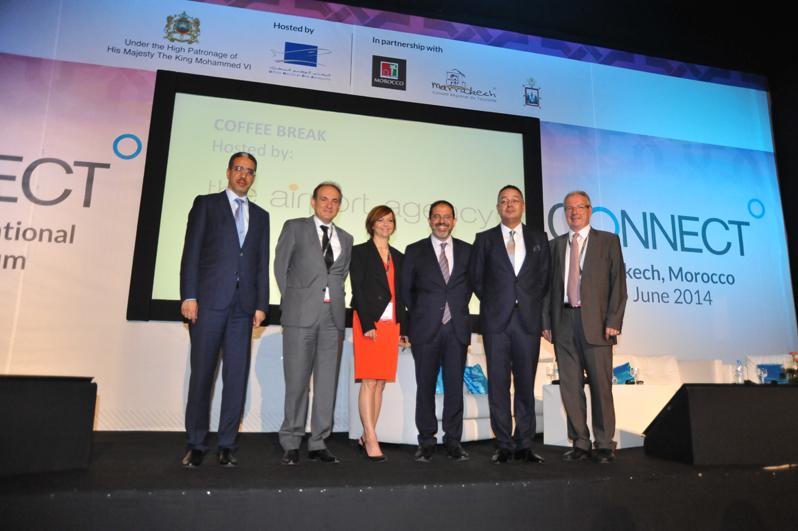 La cérémonie d'ouverture du salon Connect de Marrakech. DR Connect 2014.