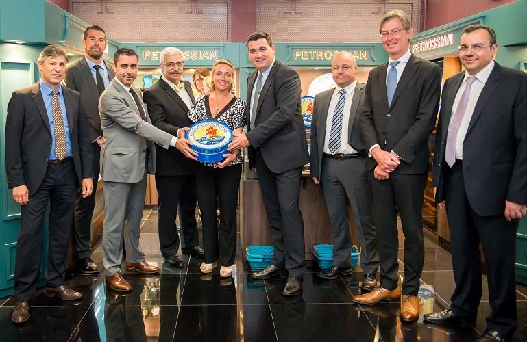 Les passagers du terminal pour Affaires de l'aéroport pourront acheter du caviar à la boutique Petrossian - Photo DR
