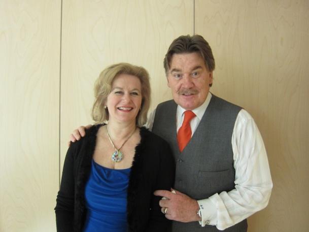 C'était en mars dernier : Martin J Craigs et Daniela Wagner souhaite réactiver l'association PATA en France / Photo LAC