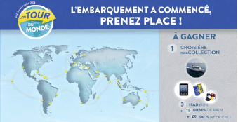 Le Tour du Monde de Costa Croisières est sur Facebook jusqu'au 1er juillet 2014 - DR
