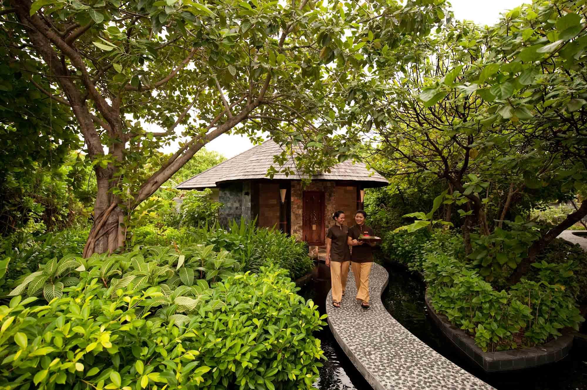 Le spa Iru Fischi  dans l'atoll de Noonu aux Maldives