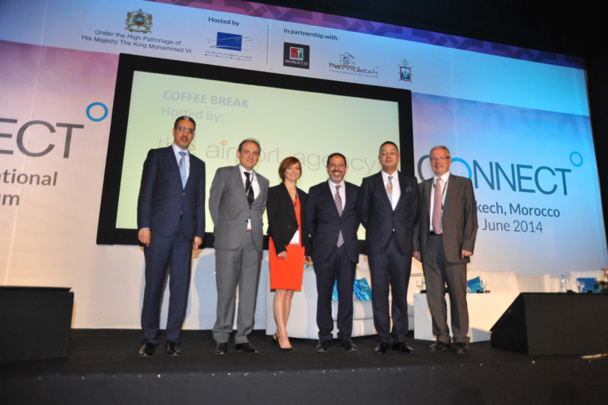 The opening ceremony of the Marrakech Connect room. Connect DR 2014.