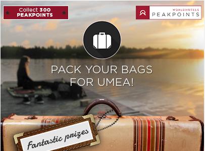WorldHotels invite ses fans Facebook à faire leurs valises pour gagner les prix mis en jeu - Capture d'écran