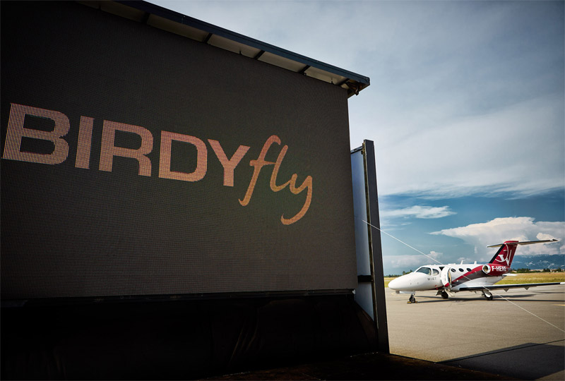 Aviation affaires : l'agence BIRDYfly prend son envol à Valence