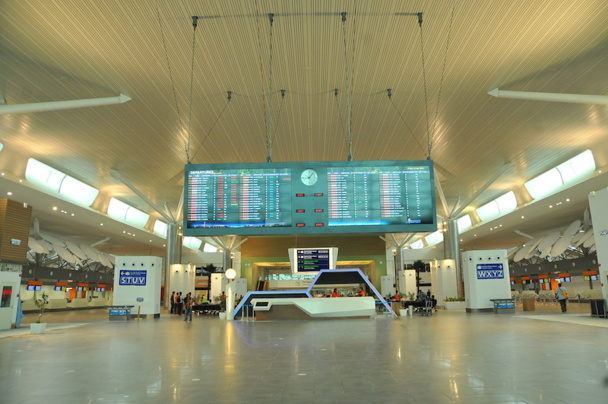 Kuala Lumpur: the new low cost terminal in spite of itself