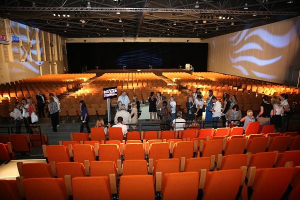Nouvelle salle de 3200 places du parc Chanot. DR