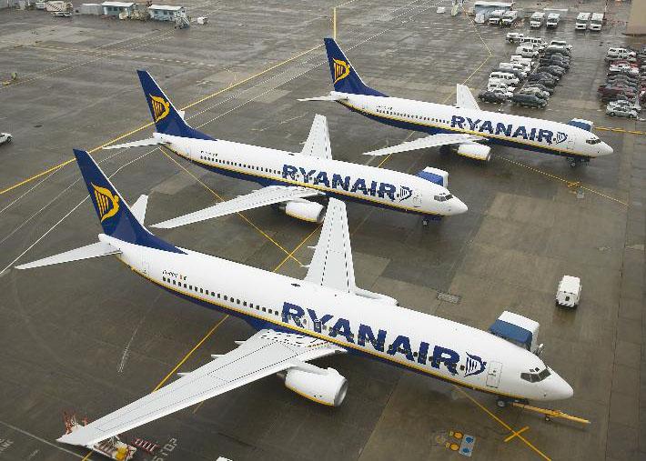 Ryanair est jugée en appel les 23 et 24 juin 2014, au tribunal d'Aix-en-Provence. La compagnie avait été condamné pour travail dissimulé en octobre 2013 - Photo Ryanair