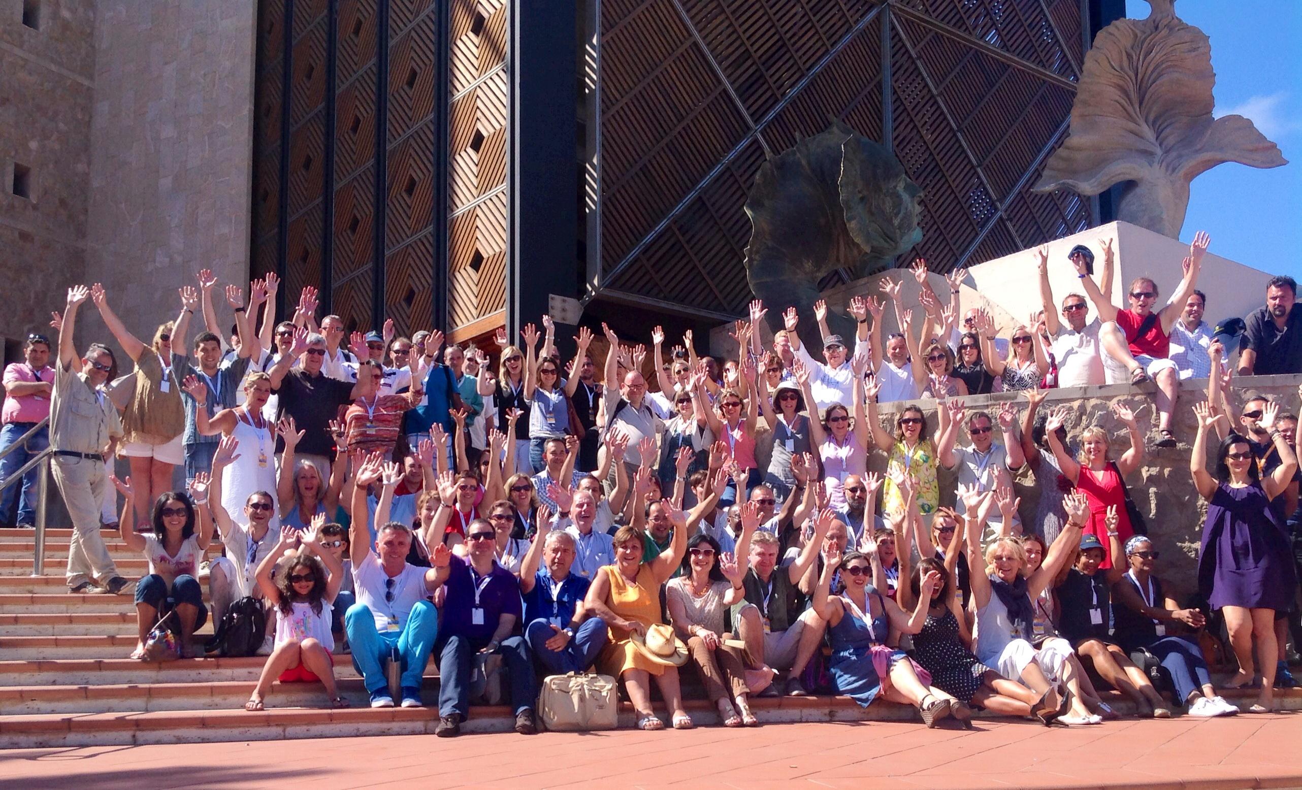 Les adhérents du CEDIV en convention à Las Palmas... - Photo JdL