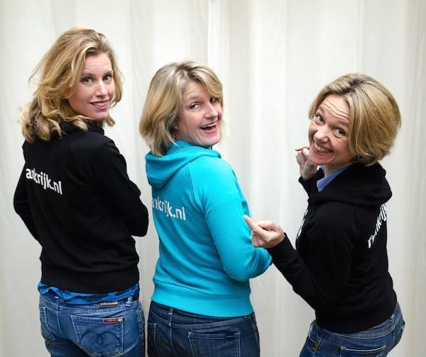 Nicky, Josee et Carole, les trois fondatrices de Frankrijk - DR