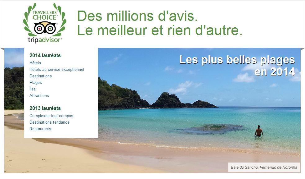 Enquête de TripAdvisor sur les tendances des Français pour l'été 2014