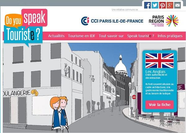 un site Internet à destination des touristes étrangers est lancé cette année : www.yesispeaktouriste.com. L'objectif est d'apporter aux touristes étrangers le meilleur service possible et d'augmenter ainsi leur niveau de satisfaction.