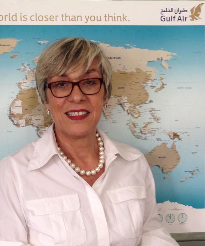Marcelle Marquis la directrice France de Gulf Air.