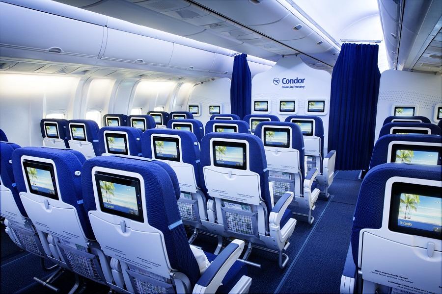 Les sièges neufs de la classe économique disposent d'un système de divertissement dernière génération - Photo DR