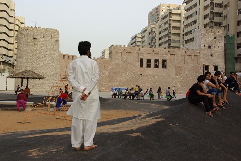 Le « vrai » Dubaï est un melting-pot grouillant du monde, carrefour d'affaires à la croisée de l'Occident, du monde arabe et de l'Asie - DR : J-F.R.