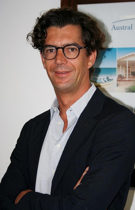 Hélion de Villeneuve, directeur général d'Austral Lagons